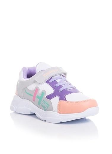Tonny Black Beyaz Çocuk Spor Ayakkabı Tbz13 Beyaz